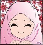 muslimah senyum